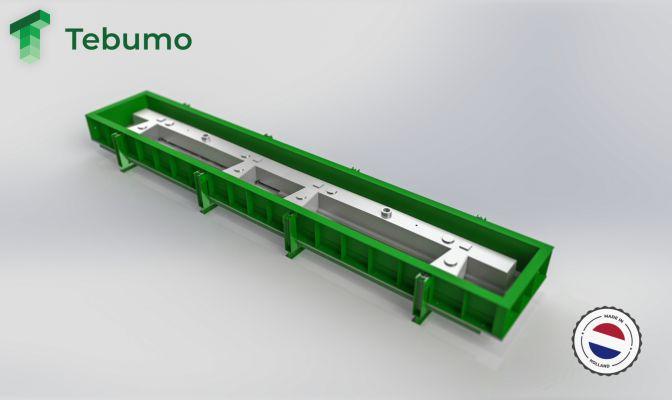 Prefabmal geleiderail